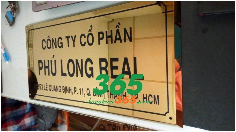 Thiết kế và làm bảng hiệu tại Tân phú