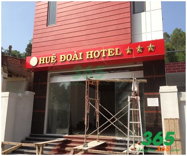 Thi công thiết kế bảng hiệu quảng cáo giá rẻ tại quận Gò Vấp TpHCM