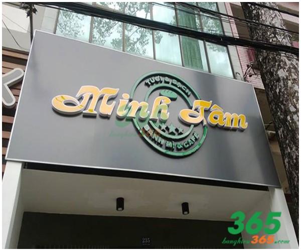 Làm bảng hiệu quảng cáo tại quận Gò Vấp-Bảng hiệu(Mica, Bạt hiflex, Decal, tôn, Alu, LED)