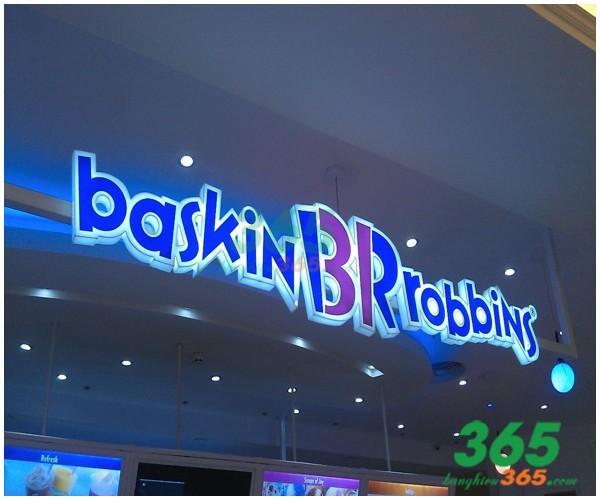 Thiết kế Mẫu bảng hiệu chữ nổi LED công ty, shop
