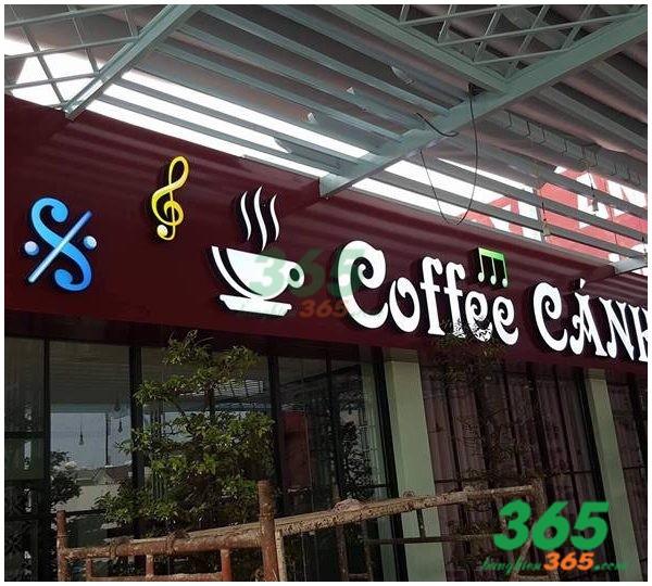 Mẫu bảng hiệu chữ nổi quán cafe đẹp