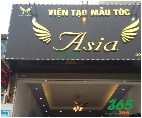 Thiết kế Mẫu bảng hiệu alu, mica đẹpcủa Viễn Mẫu tóc Asia