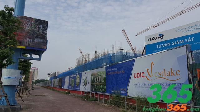 In biển hiệu làm hàng rào cho công trình xây dựng, tạo hiệu quả quảng bá cao
