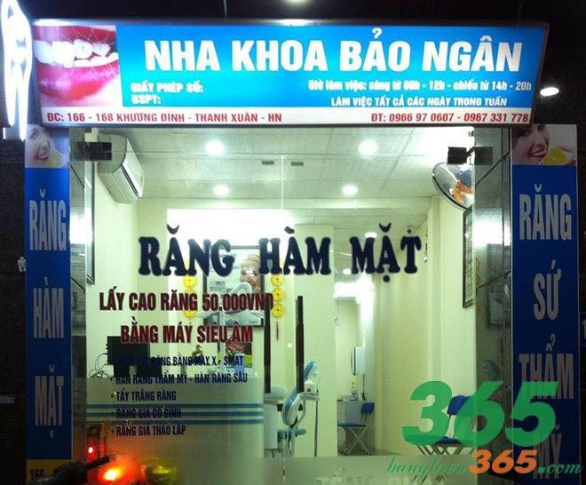 Mẫu biển hiệu phòng khám răng hiflex xuyên đèn chất lượng giá rẻ