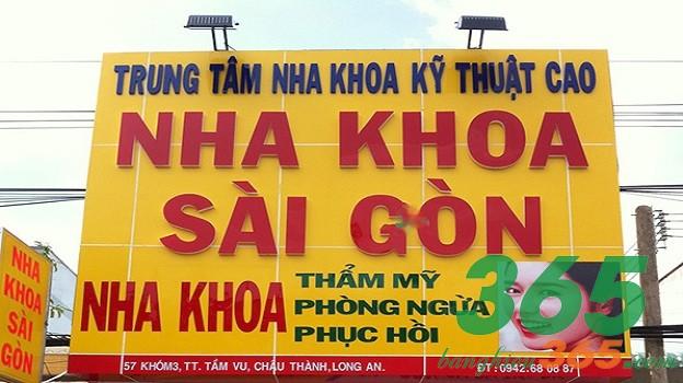 Biển quảng cáo chữ nổi kích thước lớn màu sắc nổi bật